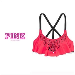 Victoria's Secret PINK flounce top